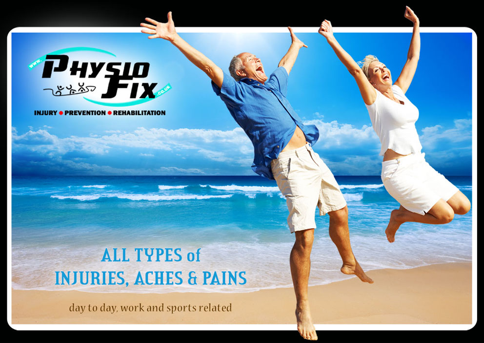 Welcome to www.PhysioFix.co.uk | All Types of Injuries, Aches and Pains